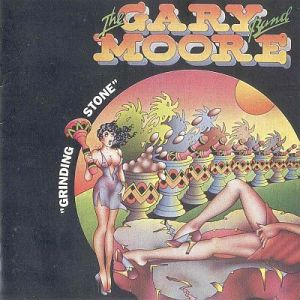 Cover Album of The Gary Moore Band - Grinding Stone (1973)