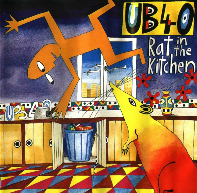 UB 40 - Rat in the Kitchen - 1986