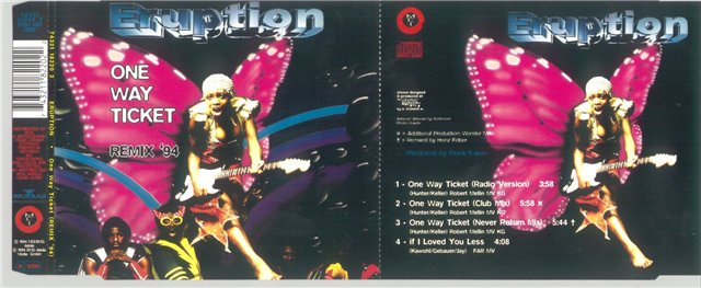 Eruption - 1994 - One Way Ticket Remix 1994 (Maxi)