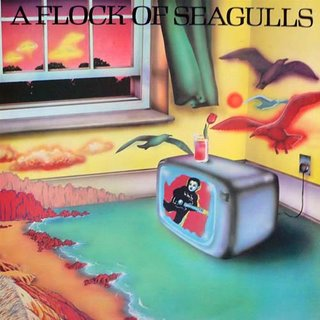 A FLOCK OF SEGULLS - A FLOCK OF SEAGULLS. 1982. JIVE.