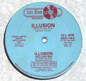 Illusion   Illusion (Holland Mix) (7:10)  (very rare song)