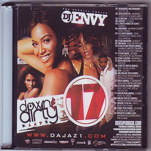 DJ Envy - Down & Dirty RnB 17 (2008)