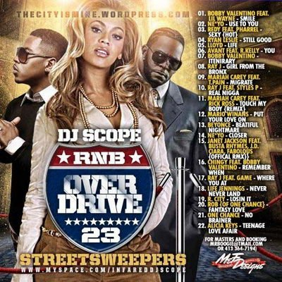 VA - DJ Scope - RnB Overdrive 23 (2008)