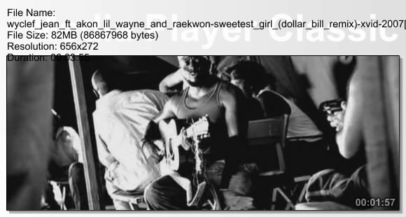 Wyclef Jean ft VA - Sweetest Girl (Remix)
