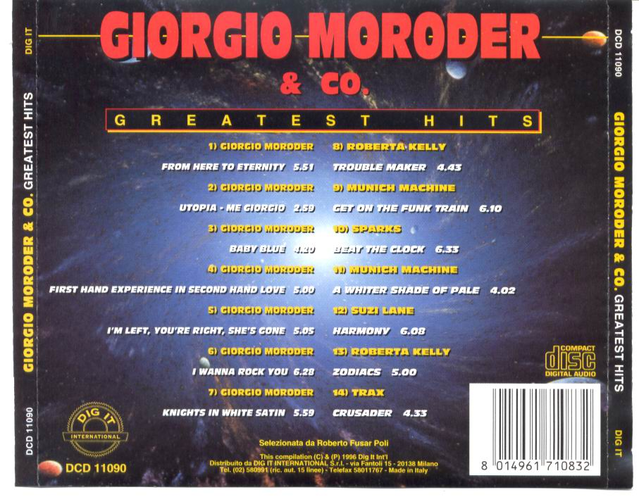 Giorgio Moroder - 1996 - Greatest Hits by www.olldmusic.net
