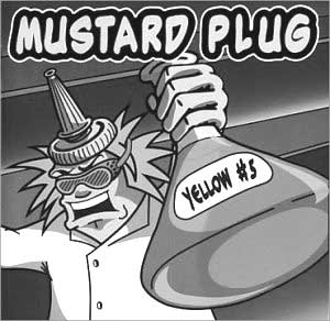 Mustard Plug - Yellow Five
