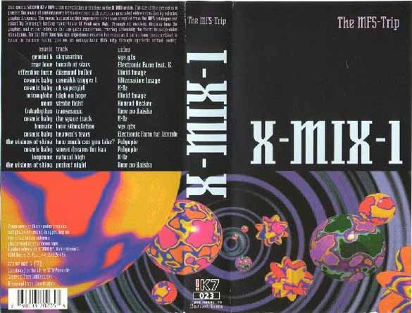 X-Mix 1 - Paul Van Dyk Presents The MFS Trip (MFS, 1993)