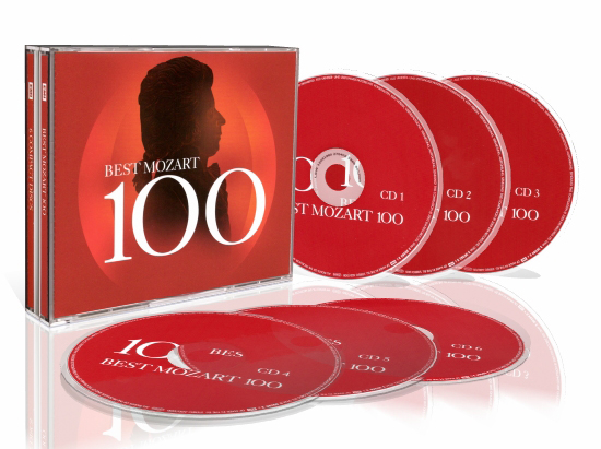 Mozart - Best Mozart 100 [6CD - VBR ~224Kbps