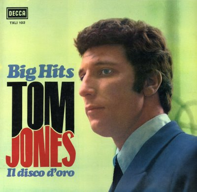 Tom Jones - Big Hits - Il Disco D'Oro (1966)  (R.A.R.)