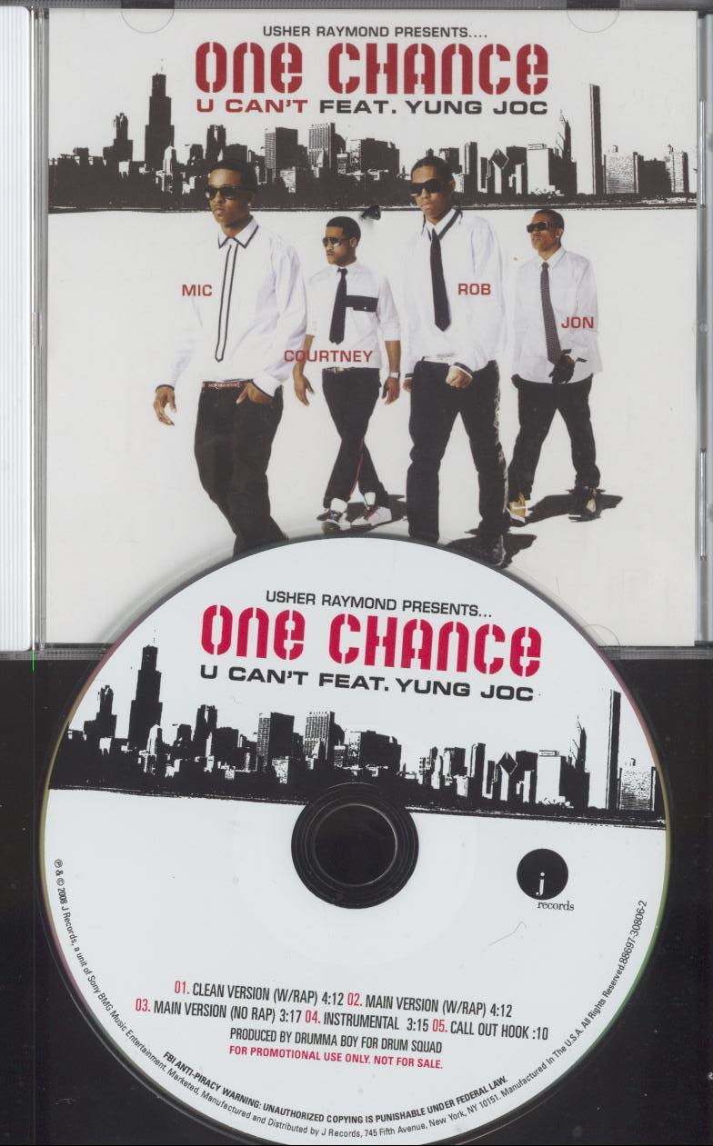 One Chance - U Cant Ft Yung Joc (Full Promo CDS)