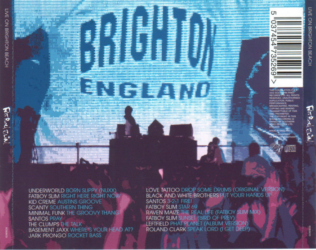 FatBoy Slim - [2002] - Live on Brighton Beach