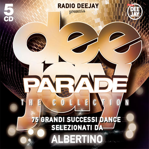 Deejay Parade Collection DjAlbertino -5CD mediashopping [MU]
