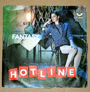 Cover Album of Hot Line - Fantasy (Vinyl) (1984)
