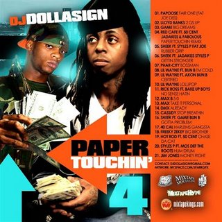 VA DJ Dolla Sign Paper Touchin 4 (Bootleg)-2008