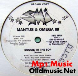 Mantus & Omega 88 - Boogie To The Bop