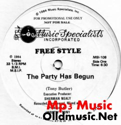 Freestyle - The Party Has Begun (Pomo 12 Inch)
