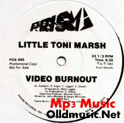Little Toni Marsh - Video Burnout (Promocional Copy 12 Inch)