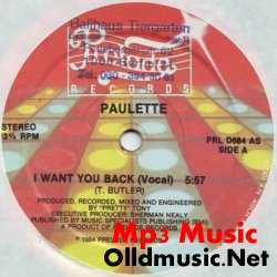 Paulette - I Want You Back