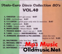 ITALO EURO DISCO COLLECTION 80'S