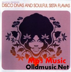 Cover Album of Various - Disco Divas And Soulful Sista Flavas (CD)