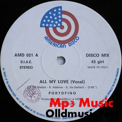 Portofino - All My Love - 12'' - 1985