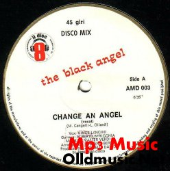The Black Angel - Change An Angel - 12'' - 1983