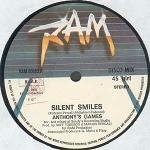 Anthony's Games - Silent Smiles/Hey Hey Girl 12