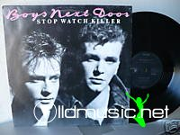 "Boys Next Door - Stop Watch Killer 12"" Maxi [Rare]"
