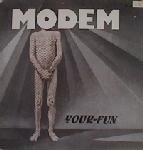 "Cover Album of Modem - Your Fun 12"" Maxi [Rare]"