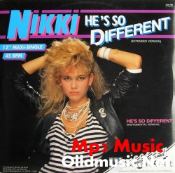 Nikki-He's so different (instrumental extended version) '85