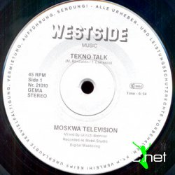 Moskwa TV Tekno Talk Bombing Mix