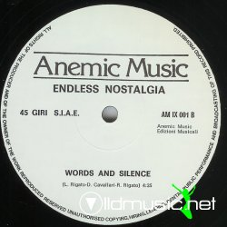 Endless Nostalgia - Me And My Alter Ego - 12''