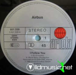 Airbus - I Follow You - 12'' - 1984