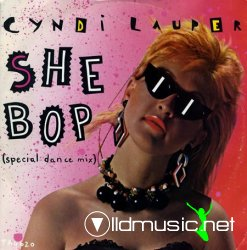 Cyndi Lauper - She Bop 12''Single 1984
