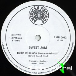 Sweet Jam - Living in Saigon - 12''-1987