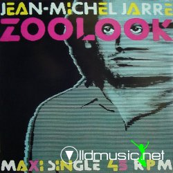 "Jean-Michel Jarre - Zoolook (12""Maxi Single) 1984"