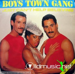 BOYS TOWN GANG - I Just Can't Help Believing (12 Single) 1983