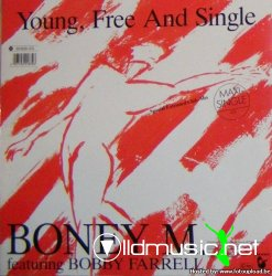"Boney M. - Young Free and Single 12"" Maxi [Rare]"