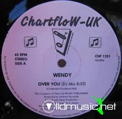 Wendy - Over You (DJ Mix) 1988 Very RARE