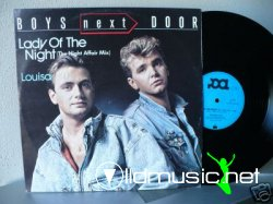 "Boys Next Door - Lady Of The Night 12"" Maxi [Rare]"