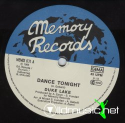 Duke Lake - Dance Tonight 12