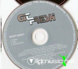 Git Fresh - Booty Music (Promo CDS) [2008]