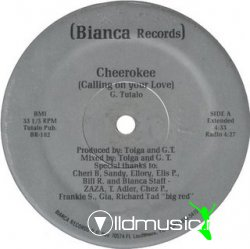Cherokee - Calling On Your Love [Bianca Records Vinyl 12