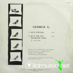 George G. - He Is The One Maxi-Single 1986