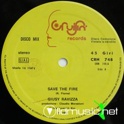 Giusy Ravizza - Save The Fire (Vocal 1987)