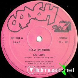 Ella Morris - No Love Vinyl, 12' '1984