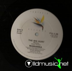 Marianna - The Big Hurt (Remix) Vinyl, 12'' 1985 Fantasia Records Ltd