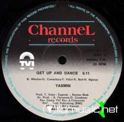Yasmin - Get Up And Dance [12'' Vinyl Channel Records]