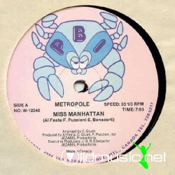 Metropole - Miss Manhattan (1981 B.P.I Records)