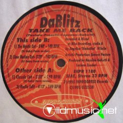 Da Blitz -  Take Me Back - 1995